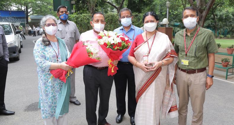 Hon'ble Minister's DBT Visit