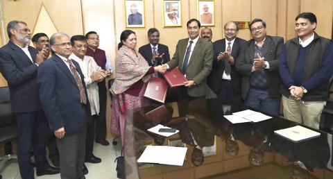 Memorandum of Understanding (MoU) between ICAR & DBT